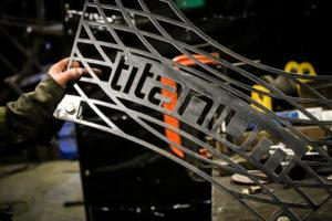 Custom Built Titanium Logo